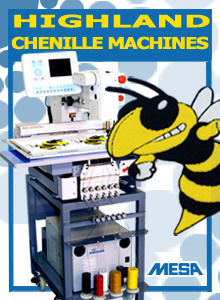 Highland Compact Chenille Machine