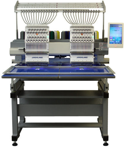 Highland Two Head Compact Embroidery Machine