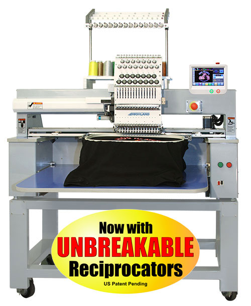 Highland HMD-1501U Bridge Embroidery machine